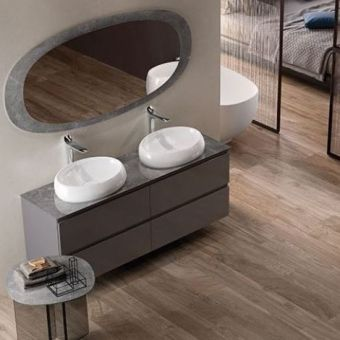 RAK Cloud Oval Countertop Basin
