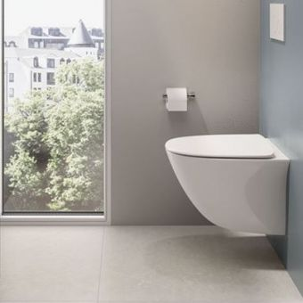 RAK Sensation Wall Hung Toilet with Soft Closing Seat