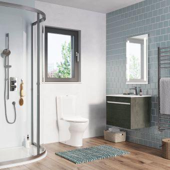 Crosswater Essentials Medium Bathroom Suite - CROSSBUNDLE4