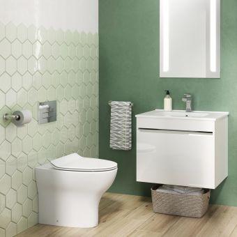 Crosswater Essentials Bathroom Suite - CROSSBUNDLE6