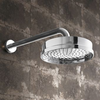Crosswater MPRO Industrial Chrome Shower Head
