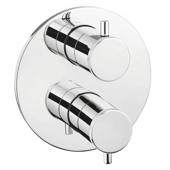 Crosswater MPRO Industrial Chrome Crossbox Shower Valve
