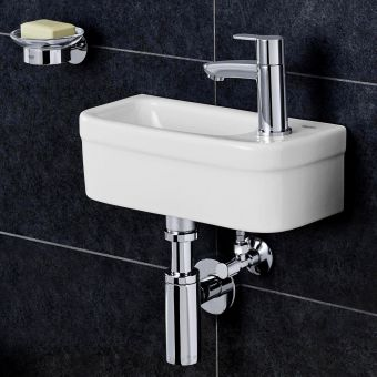 CHK Grohe Euro Ceramic Compact Cloakroom Washbasin