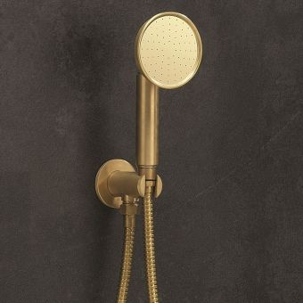 Crosswater MPRO Industrial Brass Shower Handset Kit