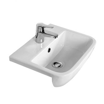 RAK Series 600 Semi-recessed Basin 420mm