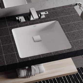 Grohe Cube Ceramic Undercounter Washbasin