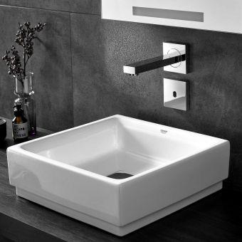 Grohe Cube Ceramic Vessel Washbasin - 3948200H