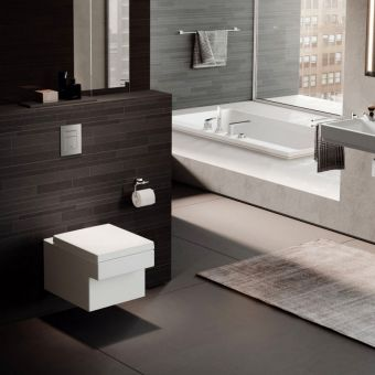 Grohe Cube Ceramic Wall Hung Toilet - 3924400H