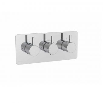 Saneux COS Dual Outlet Thermostatic Shower Valve