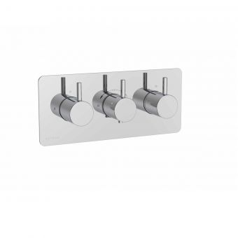 Saneux COS Three Outlet Thermostatic Shower Valve