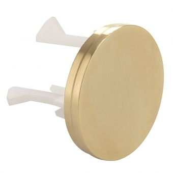 Crosswater MPRO Brushed Brass Overflow Cover - MPROOVF