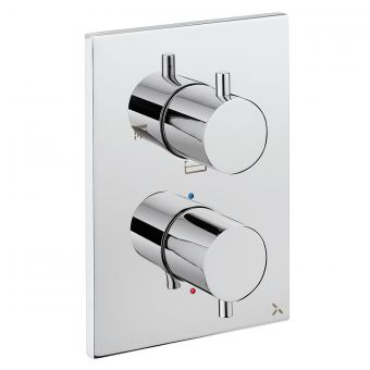 Crosswater MPRO Chrome Crossbox Shower Valve