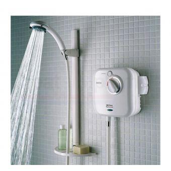 Bristan Hydropower 1000 XT Thermostatic Power Shower White - HY POWSHX10 W