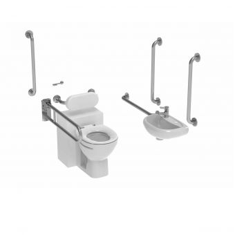 Saneux Care Doc M Back to Wall WC Pack