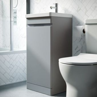 Saneux Air 400mm Floor Standing Vanity Unit