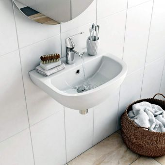 Grohe Bau Ceramic Cloakroom Washbasin 450