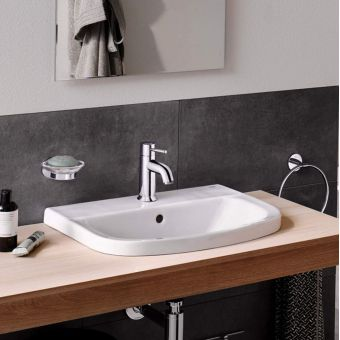 Grohe Bau Ceramic Inset Washbasin