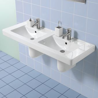 Villeroy and Boch Architectura Double Vanity Washbasin