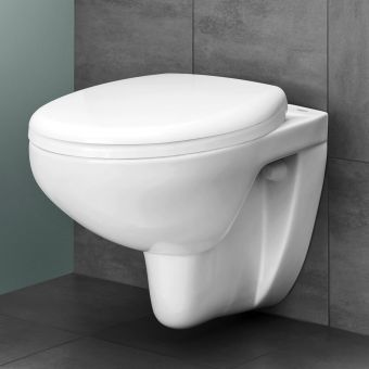 CHK Grohe Bau Ceramic Wall Hung Toilet