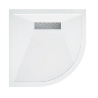 Saneux L25 Linear Stone Resin Quadrant Shower Tray