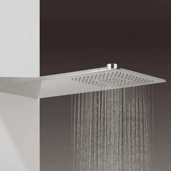 Crosswater Glide Rectangle Shower Head