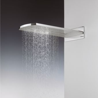 Crosswater Elite Overhead Shower with Waterfall Feature
