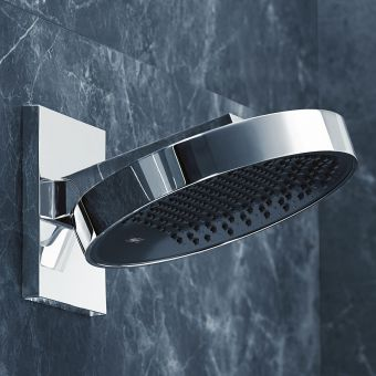 hansgrohe Rainfinity Overhead Shower 250 1jet with Wall Connector