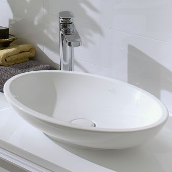 Villeroy and Boch Loop & Friends Oval Surface-Mounted Basin