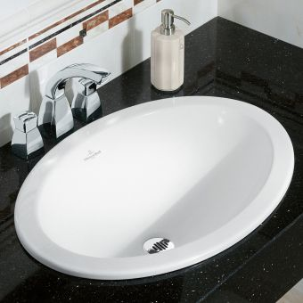 Villeroy and Boch Loop & Friends Oval Built in Basin