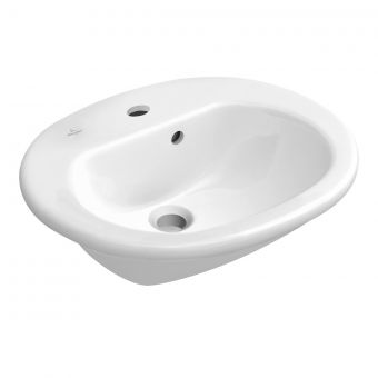 Villeroy and Boch O.Novo Semi-recessed washbasin