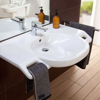 Villeroy and Boch O.Novo Vita Easy Access Basin with Handles