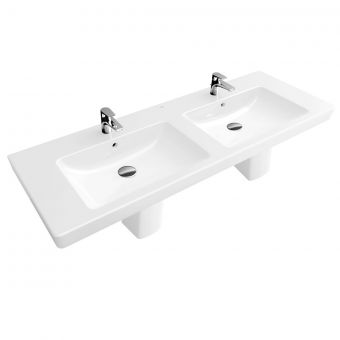 V&B Subway 2.0 Double Vanity Basin