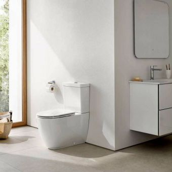 CHK Grohe Essence Close Coupled Rimless Toilet