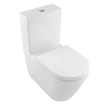 Villeroy and Boch Architectura Close Coupled Rimless WC - 5691R001