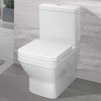 Villeroy and Boch Architectura Square Close Coupled WC - 56871001