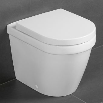 Villeroy and Boch Architectura Floorstanding Rimless WC - 5690R001