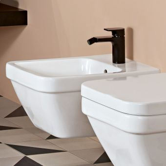 Villeroy and Boch Architectura Square Wall Hung Bidet