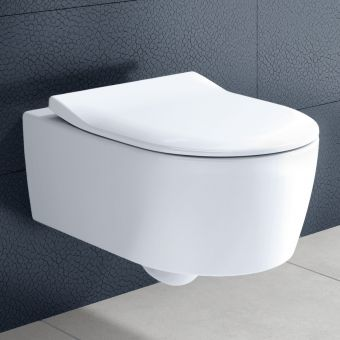 Villeroy and Boch Avento Rimless Wall Hung WC - 5656HR01