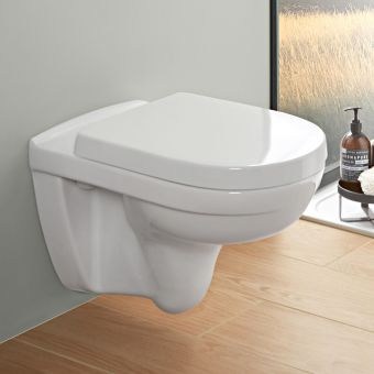 Villeroy and Boch O.Novo Compact Rimless Wall Hung WC