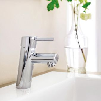 Grohe Concetto Cloakroom Basin Mixer Tap - 3220210L