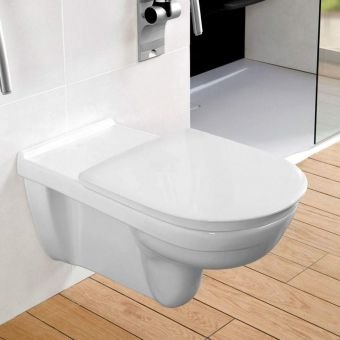 Villeroy and Boch O.Novo Vita Extended Wall Hung WC