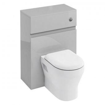 Britton D30 Toilet Unit with Flush Button for Back to Wall Toilets