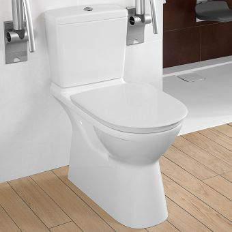 Villeroy and Boch O.Novo Vita Close Coupled Rimless WC