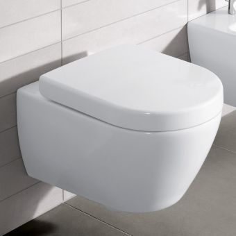 Villeroy and Boch Subway 2.0 Compact Rimless Wall Hung WC - 5606R001