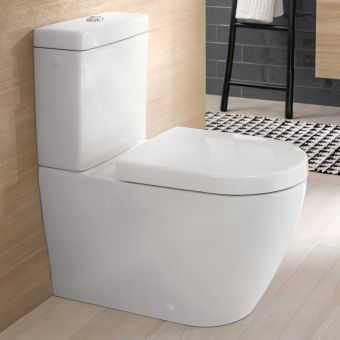 Villeroy and Boch Subway 2.0 Rimless Close Coupled WC - 5617R001