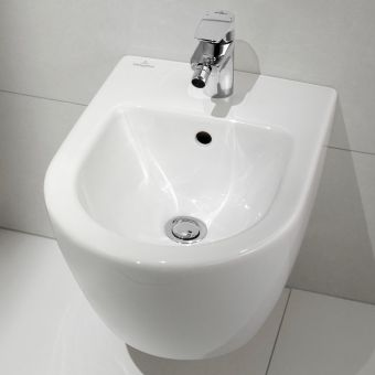 Villeroy and Boch Subway 2.0 Compact Wall Hung Bidet