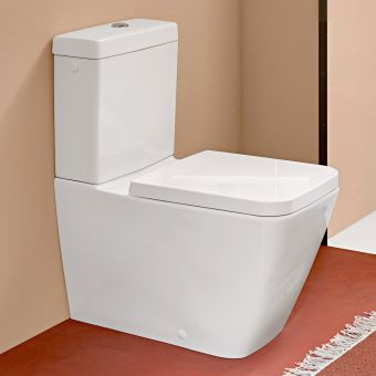 Villeroy and Boch Venticello Rimless Close Coupled WC - 4612R001