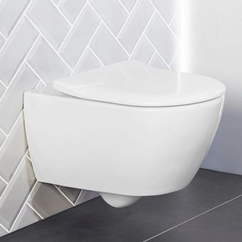 Villeroy and Boch Subway 2.0 Rimless Wall Hung WC - 5614R001