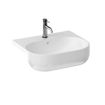 Britton Milan Semi-recessed Washbasin