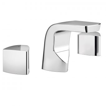 Bristan Bright 3 Hole Basin Mixer Tap